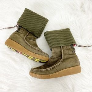 The North Face Alana Knit Cuff Down Filled Boots